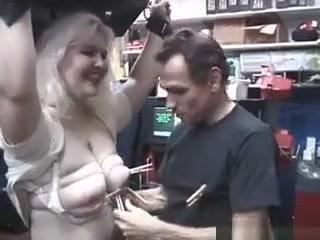 Blonde Babe Liz Gets Bound And Her jelena jensen video sex