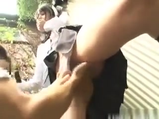 Horny Teen Schoolgirl Sucks And Fucks Him Outdoors Porn masturbate girl long gif