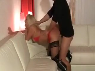 Sweet Blonde Girl Getting Fucked