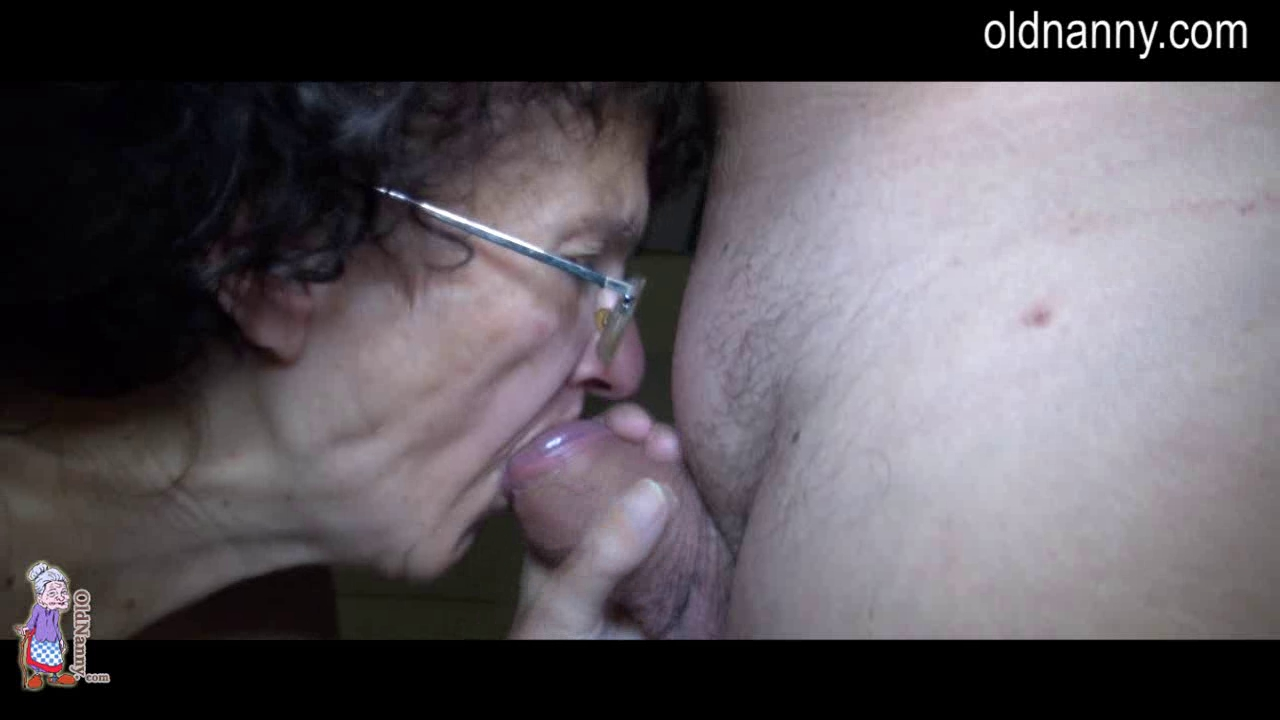 Oldnanny and juvenile angel trying oral and cook jerking Pornstars with huge breasts