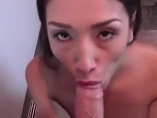 Sweet Asian Girlfriend Sucking Boyfriends Big Cock tube big brother sex