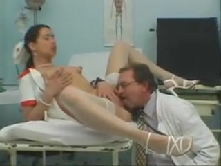 Sexy Slender Nympho In Stockings Reveals Her Oral Skills In The Clinic Very Small Ass Porn