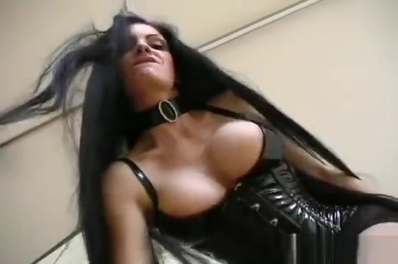Two Submissive Slaves Of Nasty Mastix In Latex Suntanned naked tits