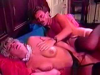 Blonde Whore Sucks Mustash Mans Cock
