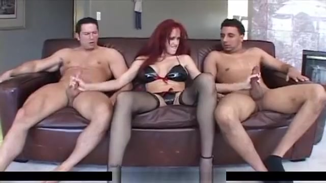 Redhead Danny Loves Ass-juice Covered Cocks masterbating with a dildow