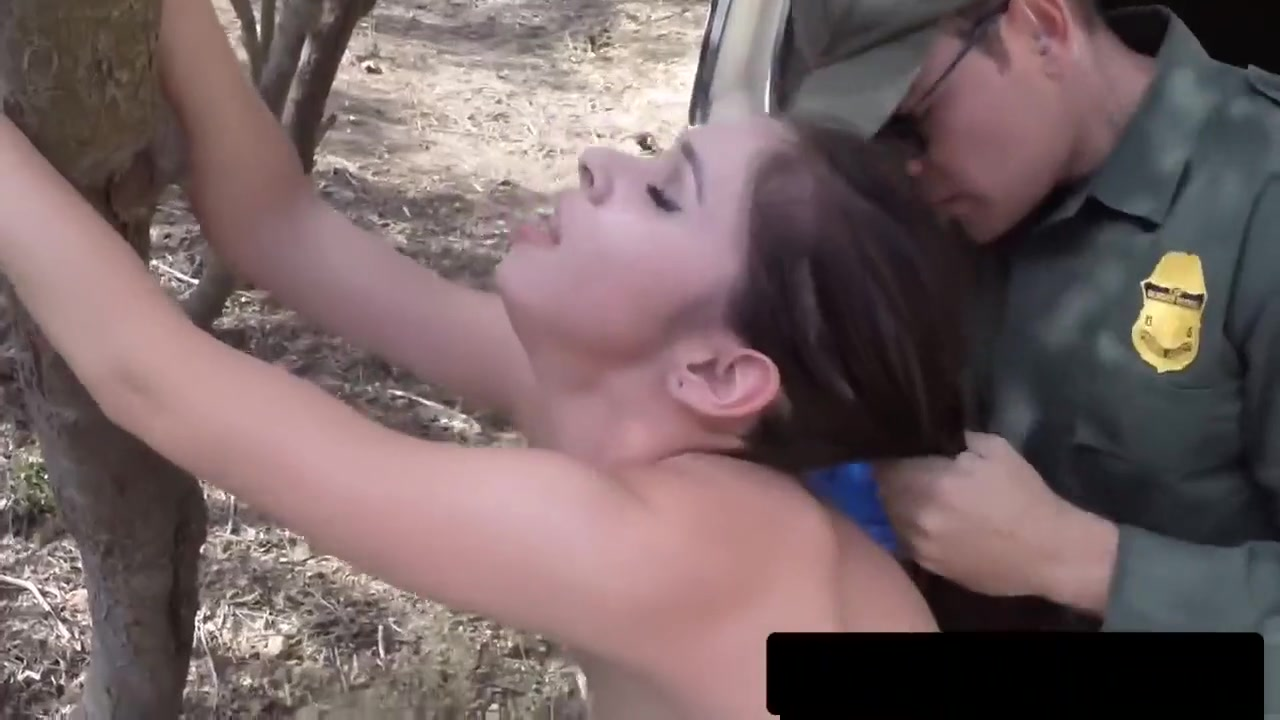Border Guard Makes Teen Into Riding Long Cock Voyer threesome amatuer