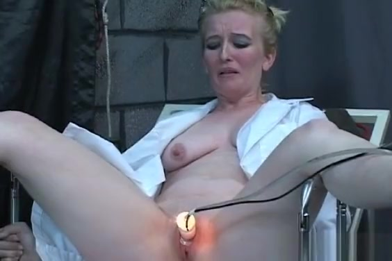 Flaming Exposed Spanking And Dilettante Bondage Porn