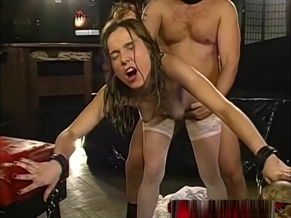 Pee And Cum For Dirty Young Slut In Chains 666bukkake Deeper harder pussy sex