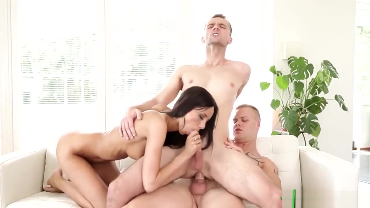 Gay Couple And Babe In Great Threesome Bust Worshipers LifeSelector