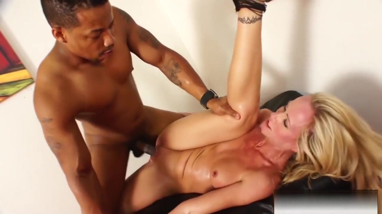 Stripper Milf Receives An Interracial Fucking From A