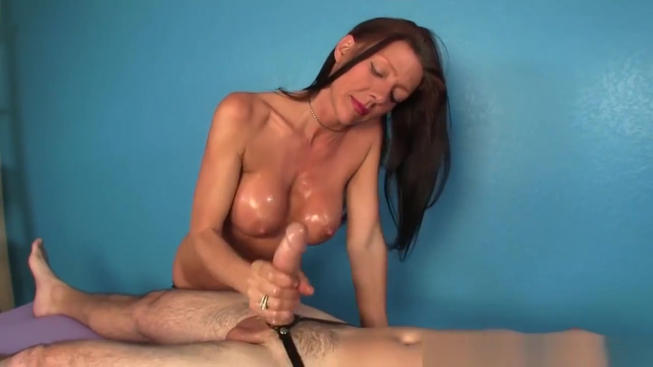 Milf Masseuse Titfucking And Jerking Cock Nikki sims pussy slip