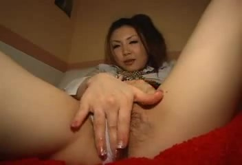 Japanese girl rubs her cunt thru her panties Sister sucks my dick