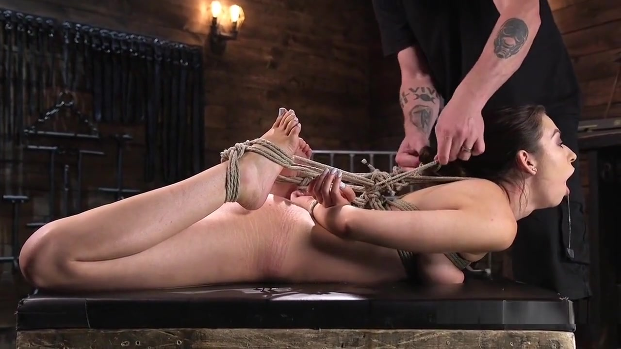 Gagged Bound Slave Pussy Fucked With Toy kimberly holland naked video