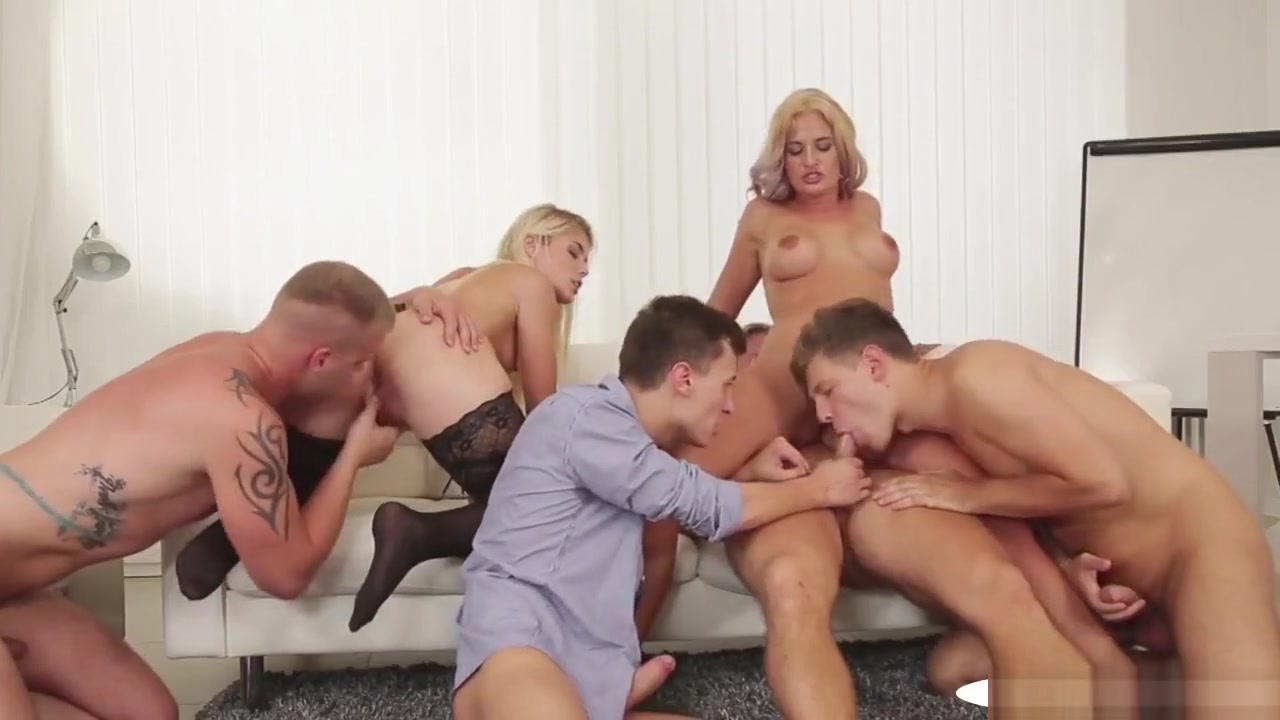 Assfucked Studs Facialized In Bisexual Orgy blowjob from an arab girl