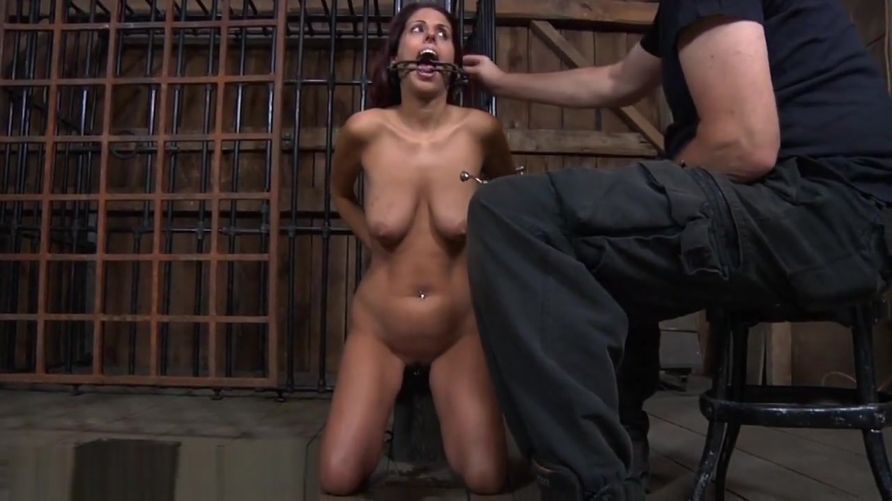 Chained Up Playgirl Gets Doggystyle Plowing From Torturer