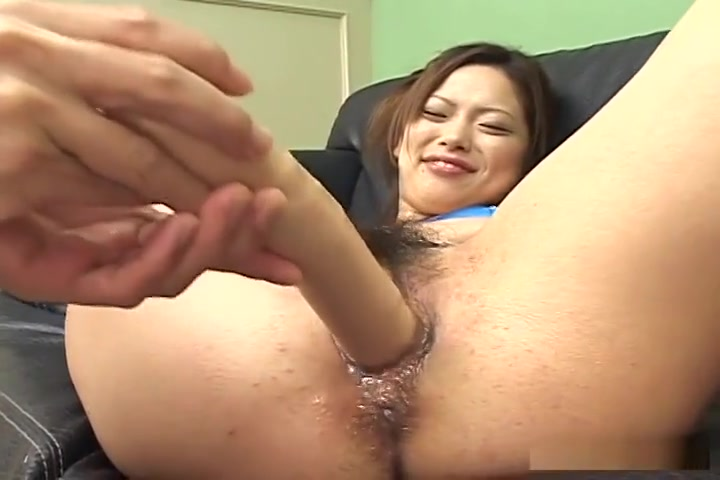 Yukari Mayama is on her back testing toys and getting cummed onto
