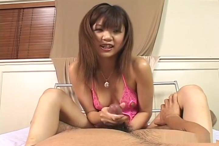 Rika Hayama makes a cock cum while using her whole body
