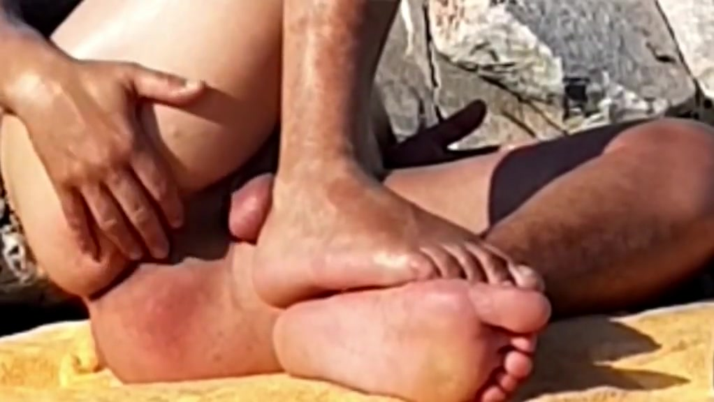 temptation from a daddy in beach Lesbian BDSM and kinky pussy sex