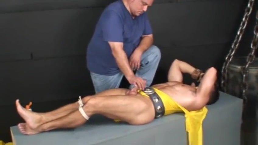 Bound and gagged super hero jerked off. Sunny Leone Learing