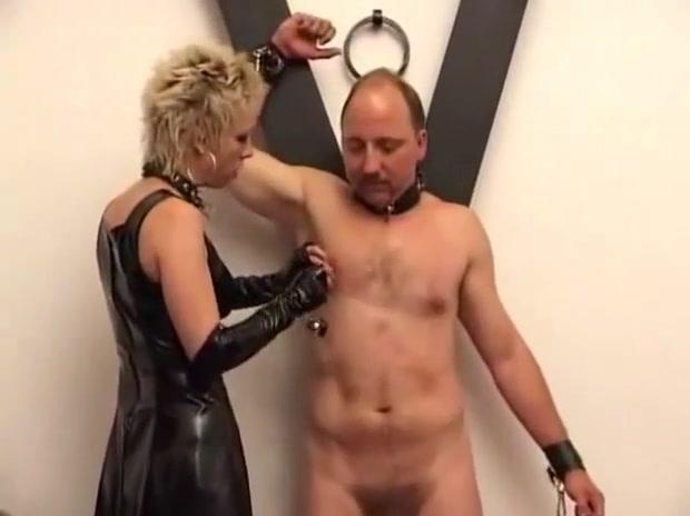 Nipple Torture 1 bdsm bondage slave femdom domination