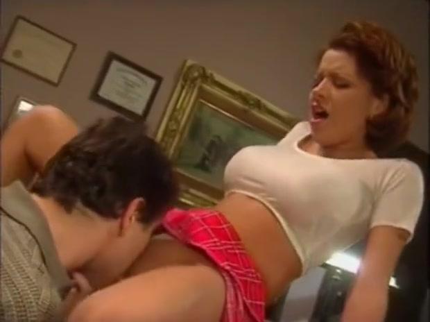 Catholic Schoolgirl gets licked, then sucks dick