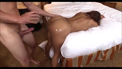 Hot Latina Gets Her Ass Oiled Up and Fucked Alia Starr & Sierra Skye bang with Voodoo