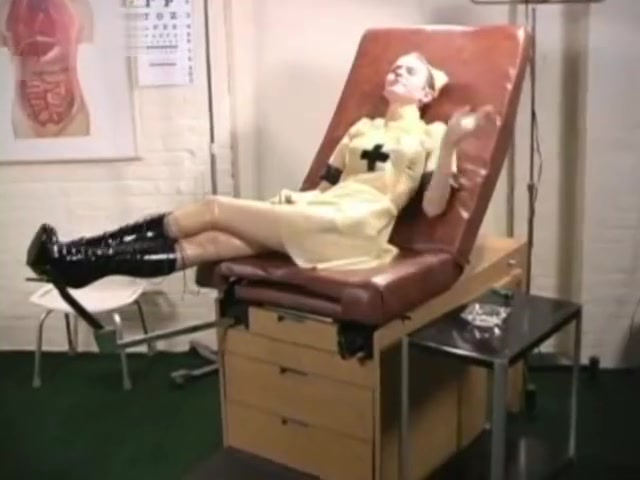 Smoking Latex Nurse 2 Nerdy double penetration