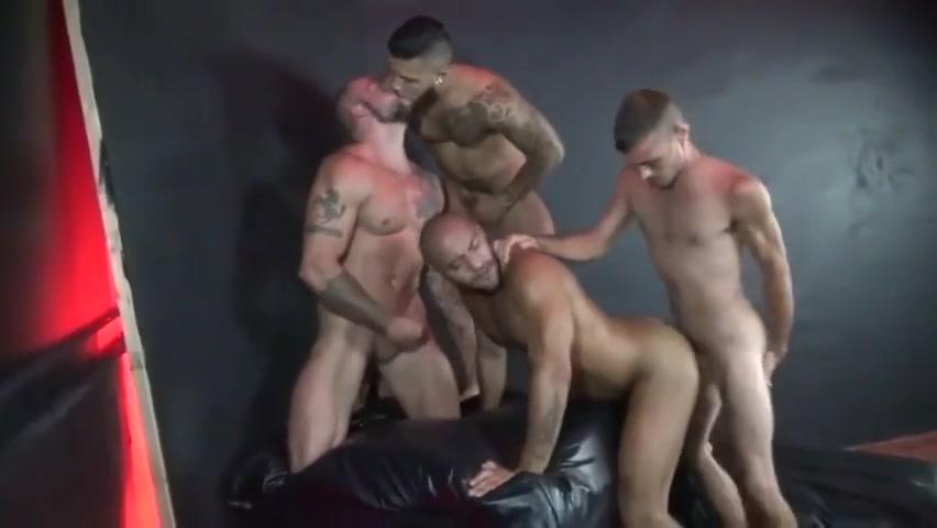 Leo Forte in a Hot Gangbang amatuer porn star blowjob