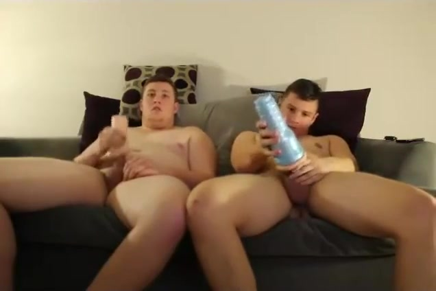 Chunky brothers masturbate side by side God oh sex
