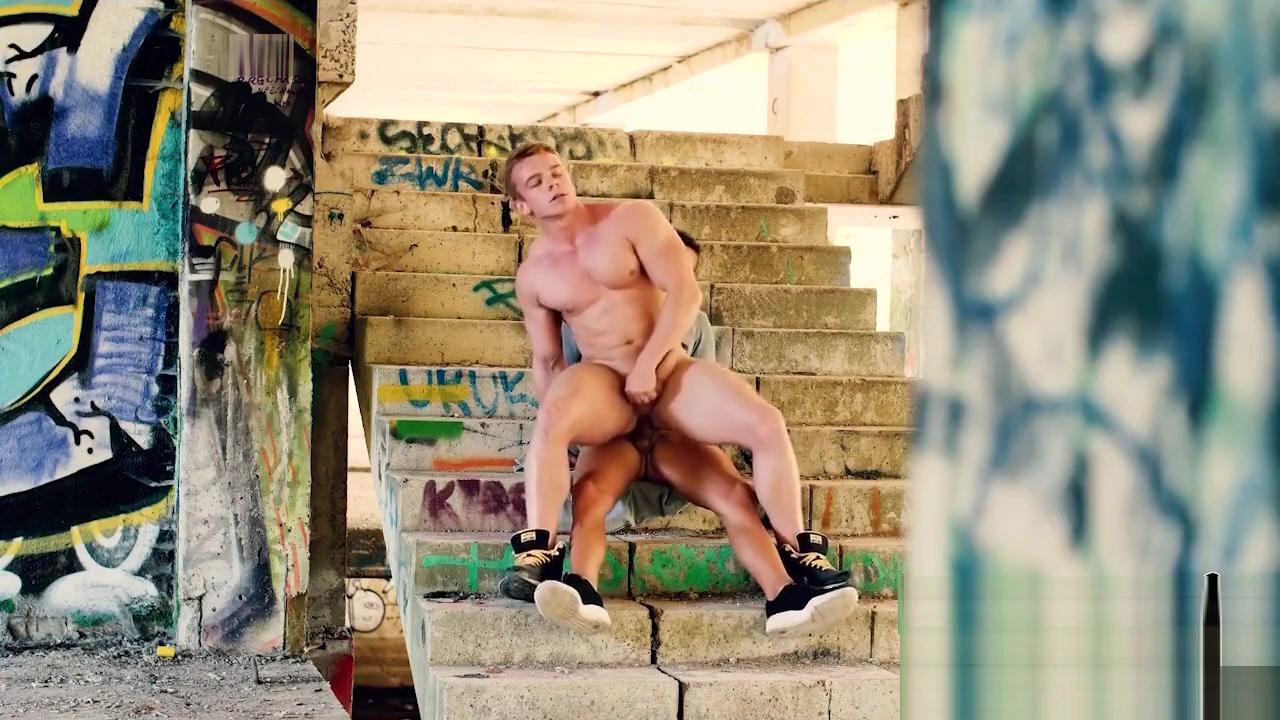 Sexual Graffiti - Boris Lang , Dom Ully Blond with natural tits fucks