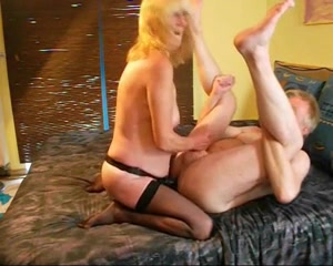 Blonde German bitch enjoys anal sex Milf toys with her sweet pussy