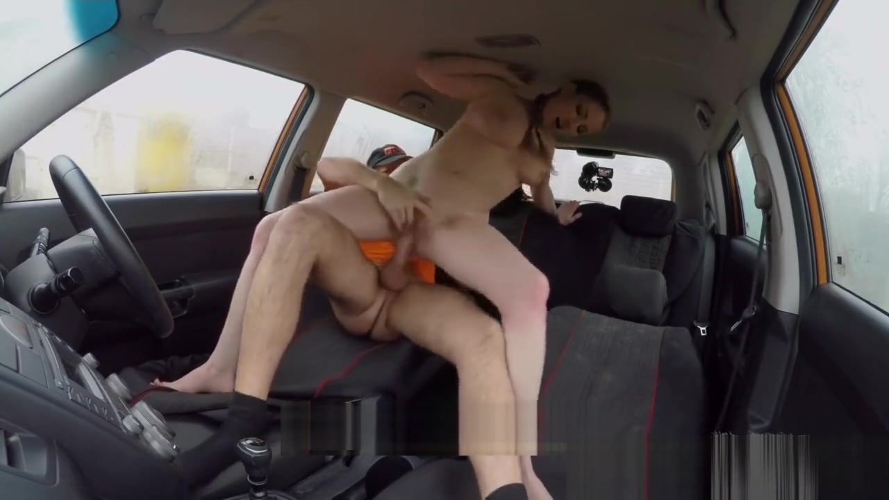 Fake Driving School Busty Blonde Georgie Lyall gets customer satisfaction Brace Face Crazy Squirting Orgasm