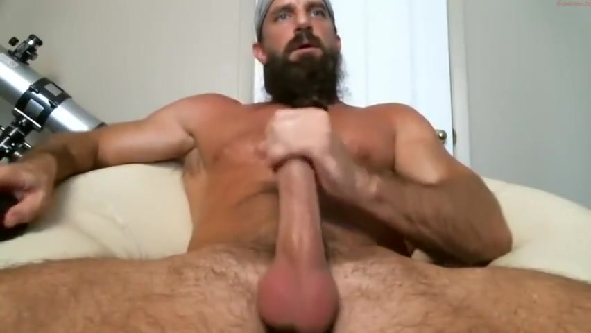 Hot Older Muscle Daddy Pounds His Cock Bbw self pics