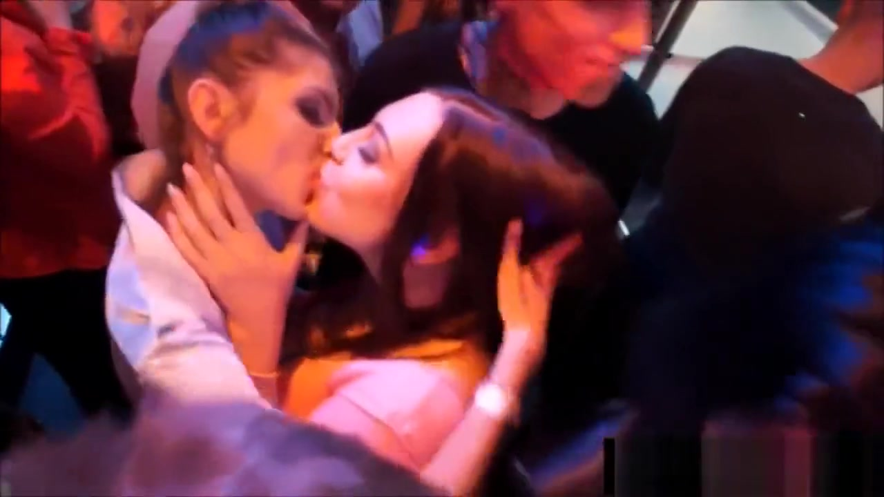 lesbian in a club