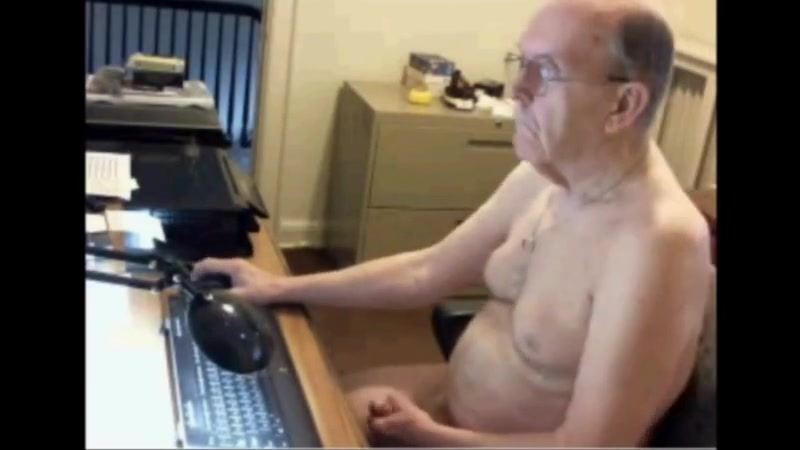 Grandpa John girls running naked with small tit
