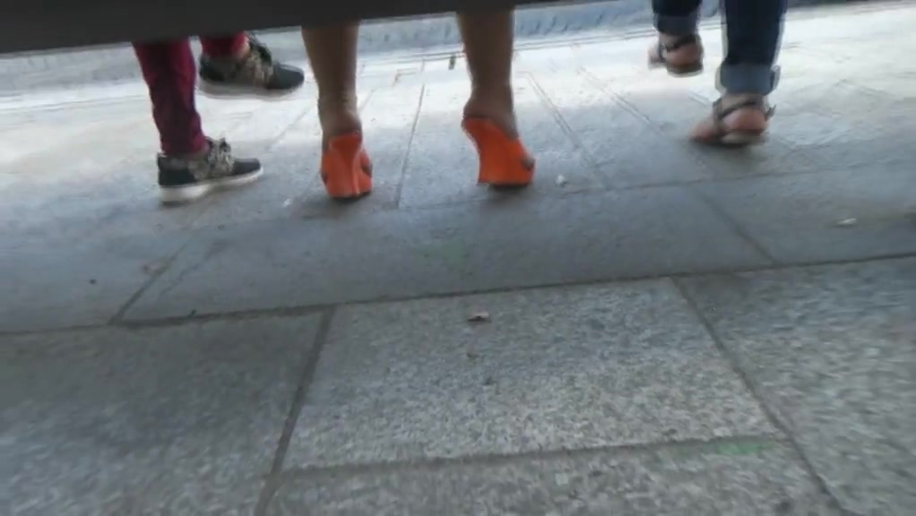 Candid orange mules and pantyhose anime seen girls nude pics