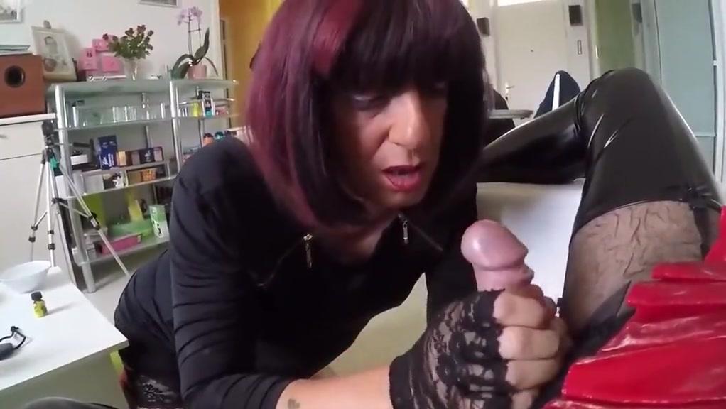 Slut licking heels and cock + spit swap Free older granny tube