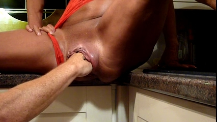 mother Id like to fuck Fisting Session In Kitchen-L1390- Allison nacca naked