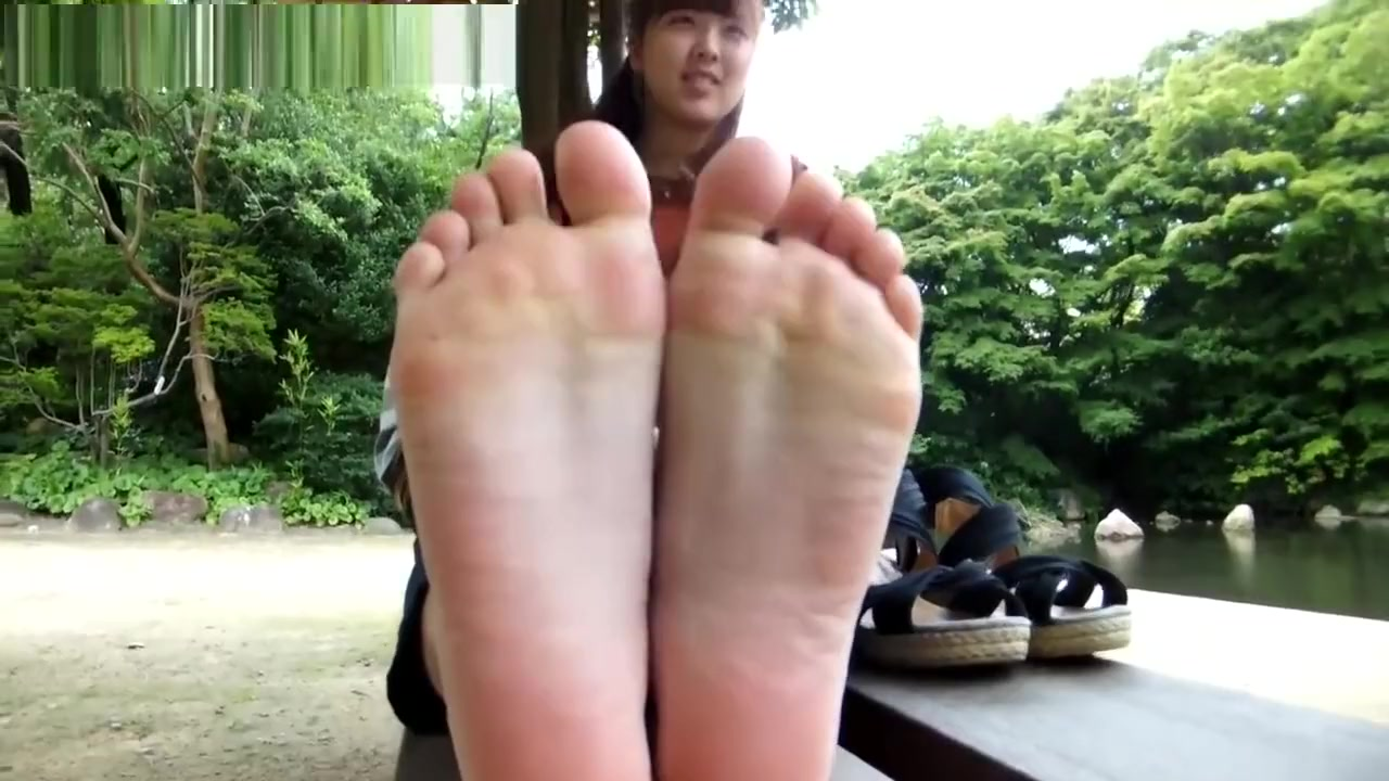 Sexy asian feet porno is the best