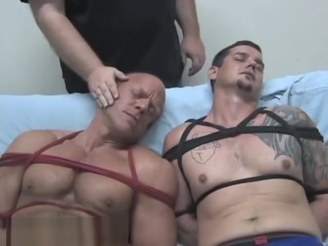 Two hunks get gagged Hot Asses In Thong