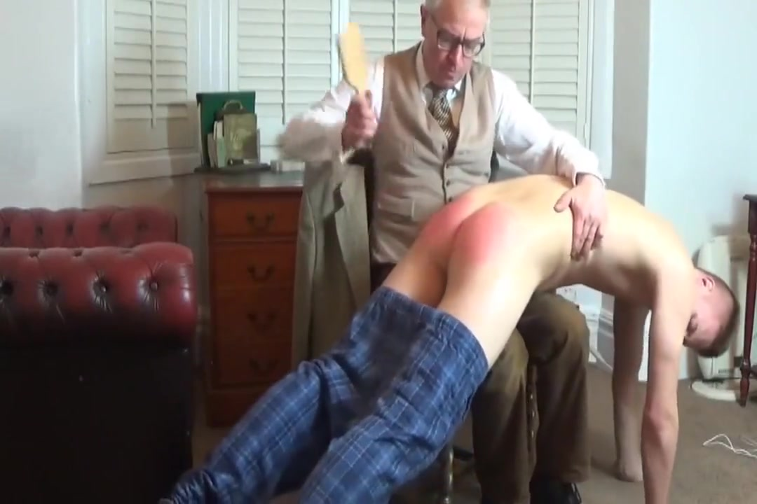 Brutal Bare Ass Hairbrush Spanking For Lad With Bad Grades Glamorous lesbian threesome play strapon games