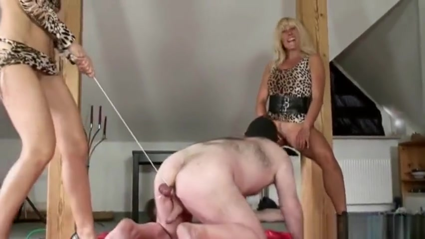 Femdom CBT- ball pulling and squeezing Sexy videos.co