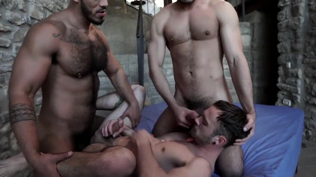 Espectacular Drake en un triazo con Rico y Louis most erotic love scene