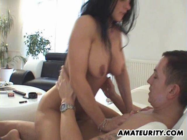 Hawt non-professional breasty Mother Id Like To Fuck drilled in her living room