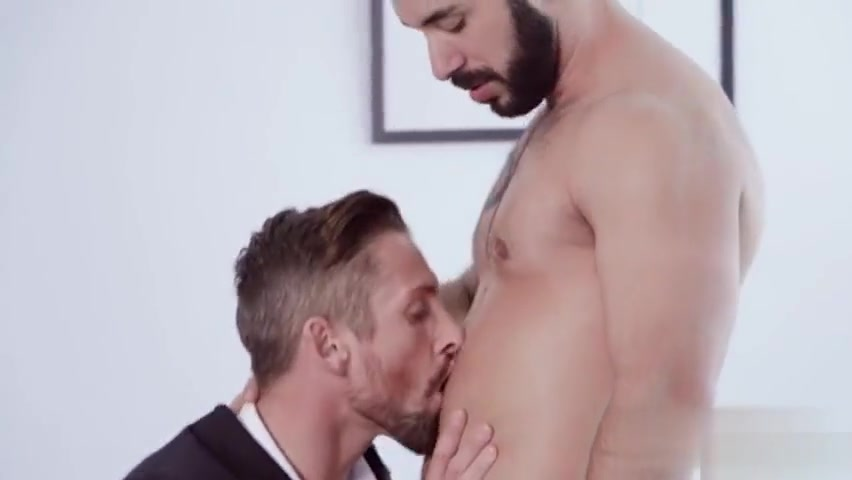 Suited Muscle creampie sex domain no