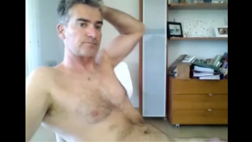 french dad strips down and cums long funny blonde jokes
