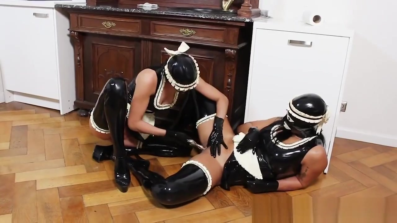 Kinky Rubber Maids Masking free porn video no bullshit