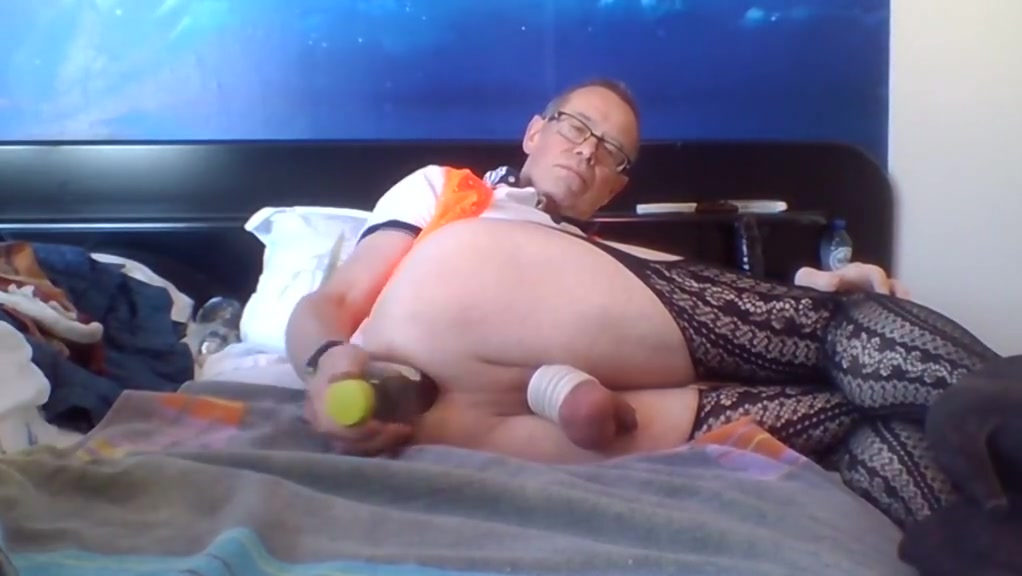 ass play and gaping big tits and big black cock