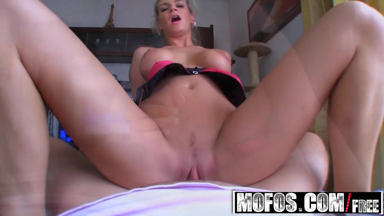 MOFOS - Publick Pickups - Adele - Sexy Bus Blonde Cum on milfs face