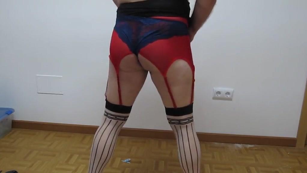 Wearing dress over my sexy lingerie Espanola madurita no profesional en Quilmes